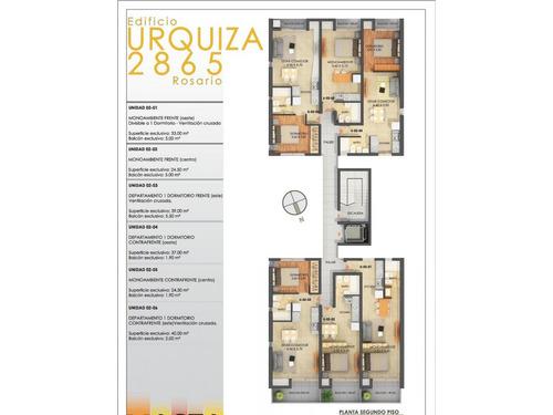 dptos. mono ambientes  (ascensor)  urquiza 2800