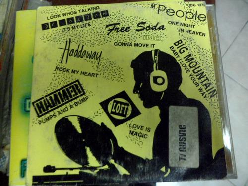 dr alban haddaway mr people free soda loft hammer  cd promo