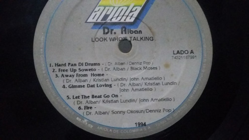 dr alban look whos talking the album lp house reggae electro