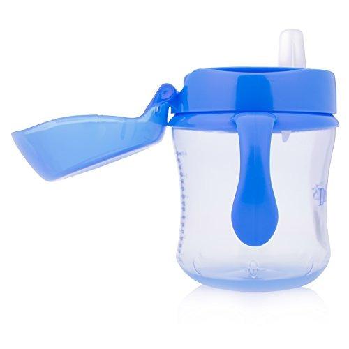 dr browns softspout transition cup 6 oz 6m blue single