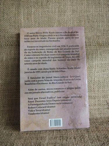 dr charlatão heino willy kude 2006 união brasileira escritor
