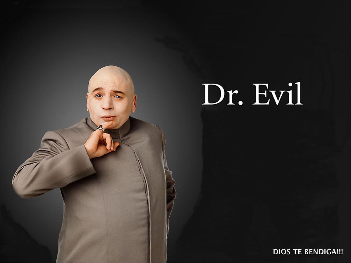 Dr Evil Austin Powers Caja Con Frases En Ingles De Peliculas 20990