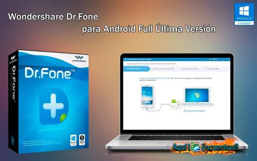 dr fone repara tu iphone y tu android..no se blockea   18