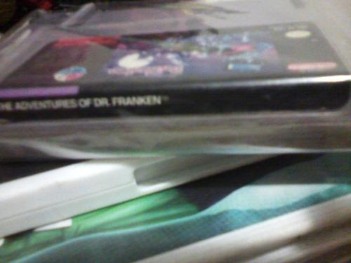 dr franky juego de aventuras de snes