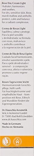 dr. hauschka rose day light cream, 1 onza liquida