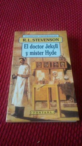 dr. jekyll y mister hyde - r. l. stevenson