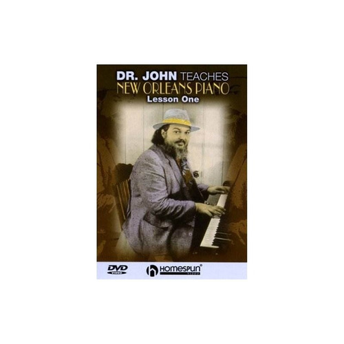 dr john dr john teaches new orleans piano 1 usa import dvd
