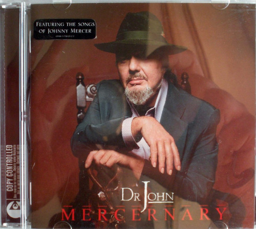 dr. john - mercenary - songs of johnny mercer - cd promo nac