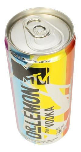 dr lemon vodka mtv lata edicion limitada 310ml 01almacen
