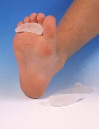 dr. lenox almohadilla de gel para dedos en garra o martillo