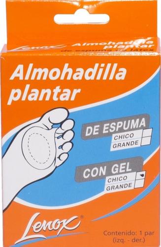 dr. lenox almohadilla plantar de gel puro blister x 2 uni.