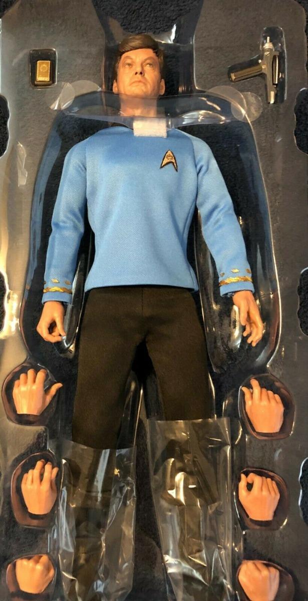 Quantum Mechanix Star Trek TOS Dr Leonard Bones McCoy 1//6 Scale Figure QMx