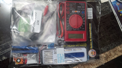 dr pc - 12 packs + set de herramientas e instrumentos
