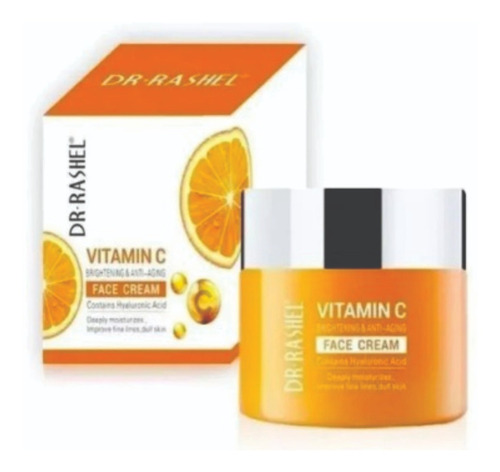 dr. rashel vitamin c face cream anti- idade
