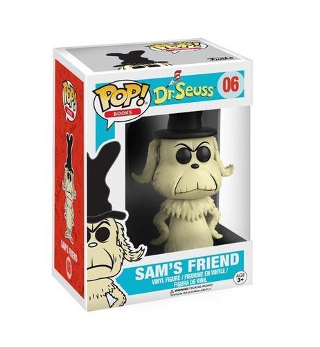 dr. seuss - sam's friend - funko pop! - robot negro