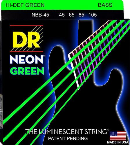 dr strings ngb-45 cuerdas para bajo 4 cuerdas envío gratis