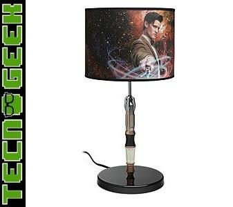 dr who, lámpara escritorio destornillador sónico