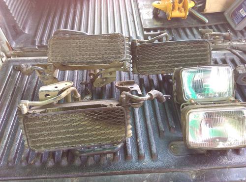 dr650; radiadores, faros, aceite y mando