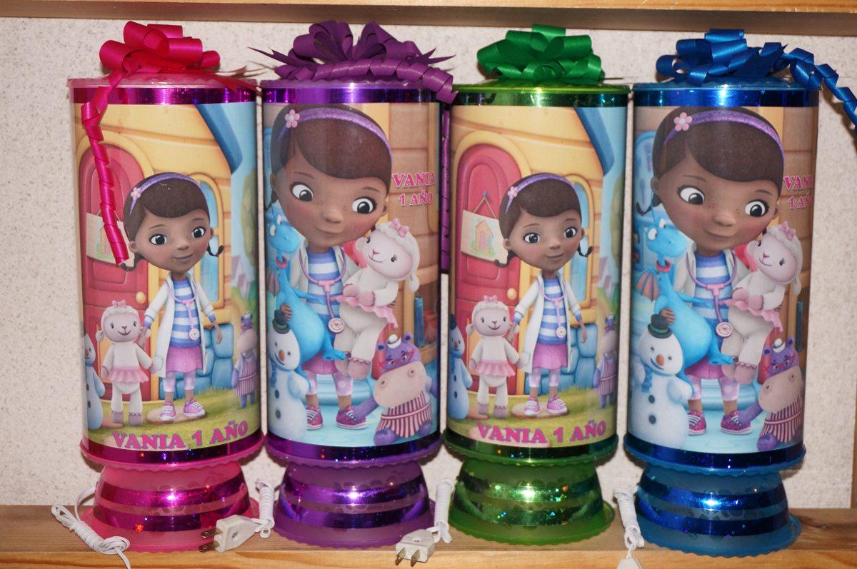 Dra juguetes centros de mesa lamparas personalizadas 1 - Lamparas personalizadas ...