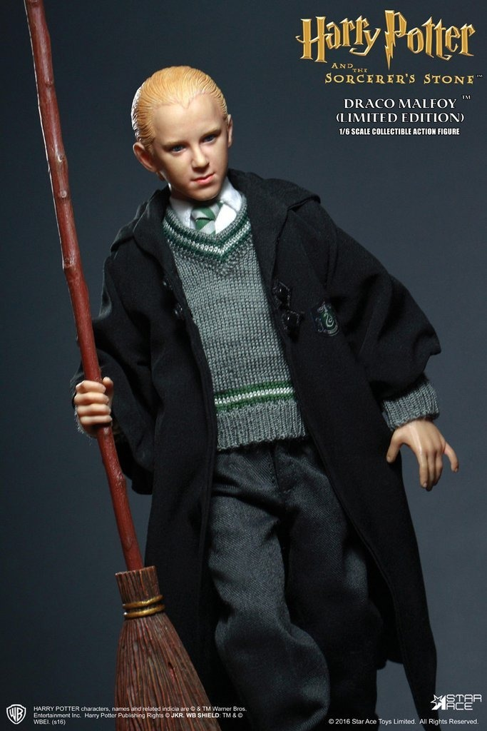 1//6 Star Ace Toys Harry Potter And The Sorcerer/'s Stone Draco Malfoy Uniform Ver
