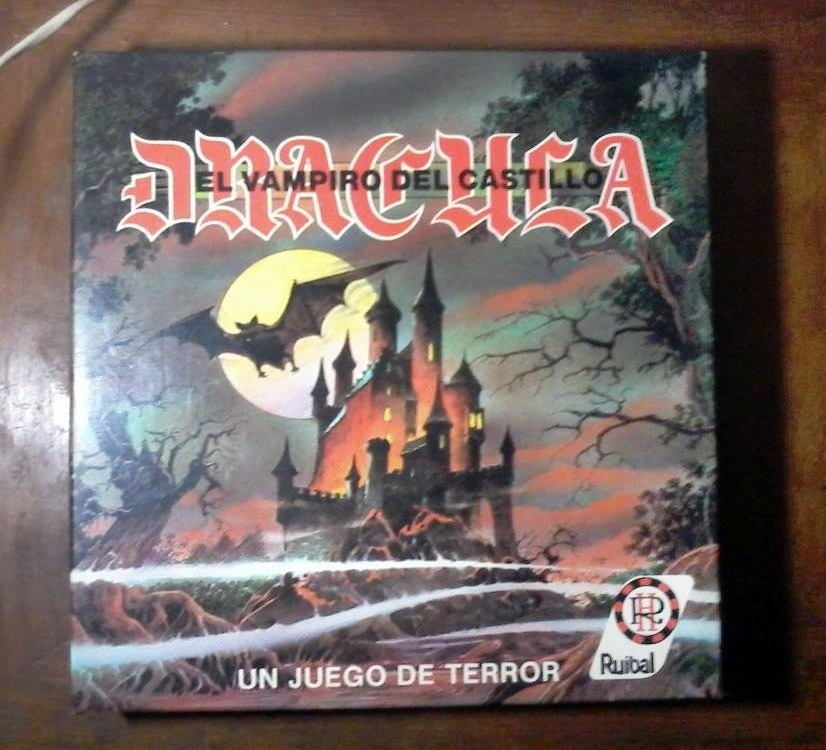 Dracula Juego De Mesa Ruibal Anos 90s 600 00 En Mercado Libre