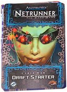 draft starter - expansão jogo android netrunner lcg ffg