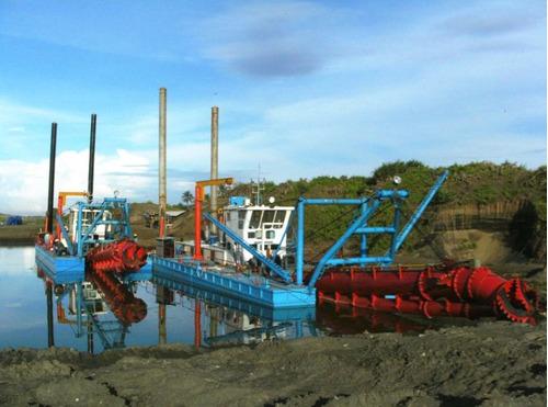 draga marina de succión nueva 14x12 financiamiento