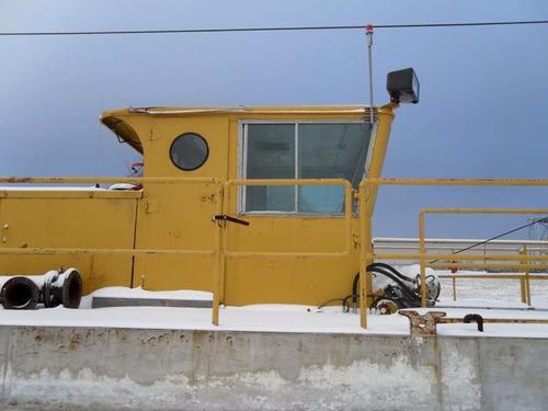 draga marina marca ammco dredge capacidad 20x20