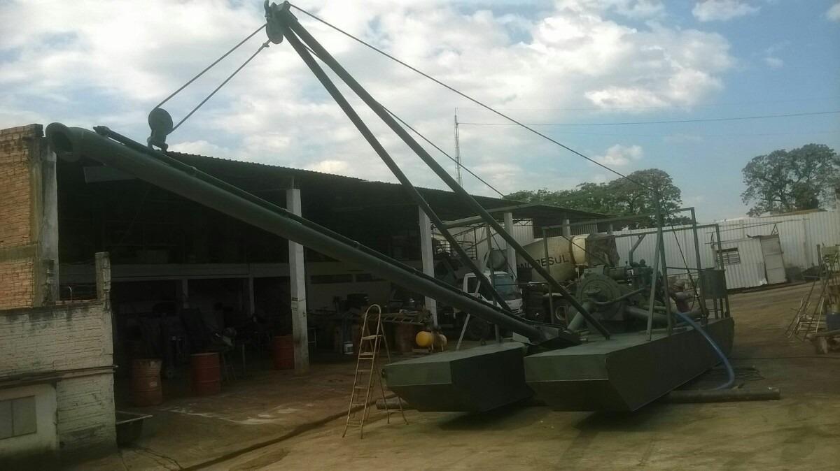 Adaptação de dragagem do equipamento do rio da mineração