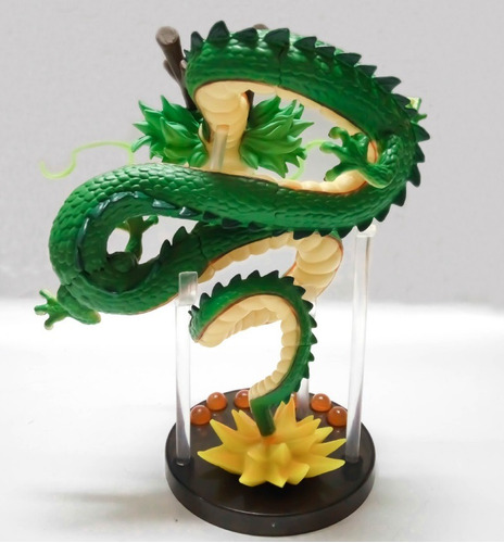 dragão shenlong + as 7 esferas + base envio imediato