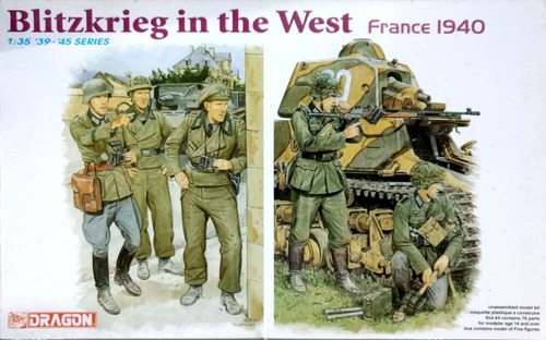 dragon 1/35 6347 blitzkrieg in the west (france 1940)