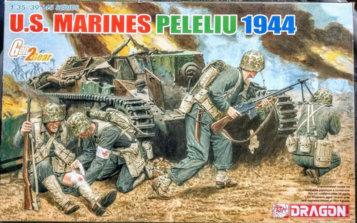 dragon 1/35 6554  u.s. marines peleliu 1944