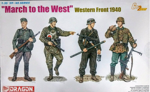 dragon 1/35 6703  march to the west  western front 1940