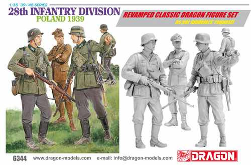 dragon-28th infantry division - poland 1939