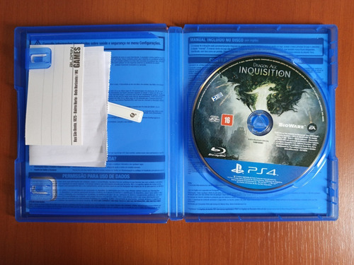 dragon age inquisition - (ps4 playstation 4 fisica)