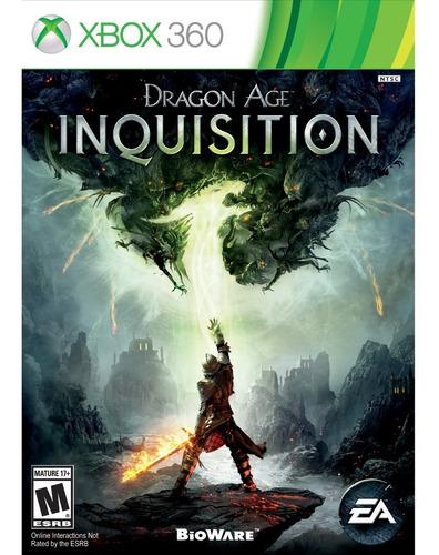 dragon age: inquisition - xbox 360 fisico nuevo & sellado