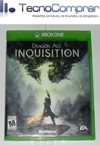 dragon age inquisition ( xbox one - usado )