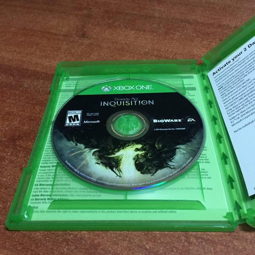 dragon age inquisition xbox one usado perfecto estado tienda