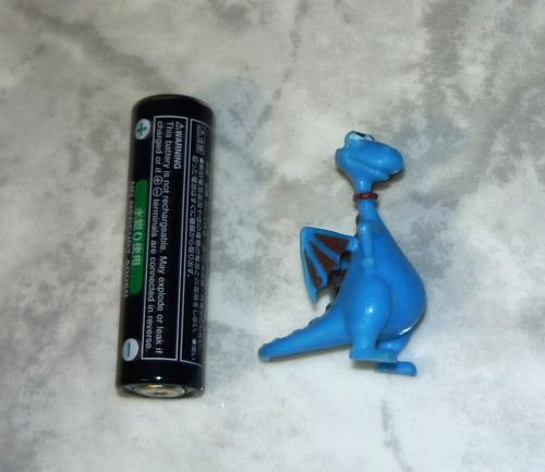 dragon azul mini figura