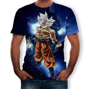 5f3844137e Camiseta Goku en Mercado Libre Chile