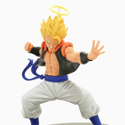 dragon ball b f c super saiyan gogeta - figura auténtica!