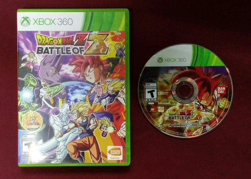dragon ball battle xbox 360.