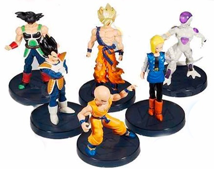 dragon ball bonecos