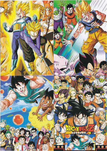 dragon ball coleccion