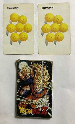 dragon ball  dragon ball z dragon ball z4 mazo naipes cartas
