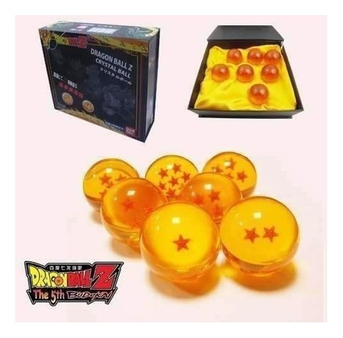 dragon ball esferas del dragon bandai 4.5cm estuche 7es ajd