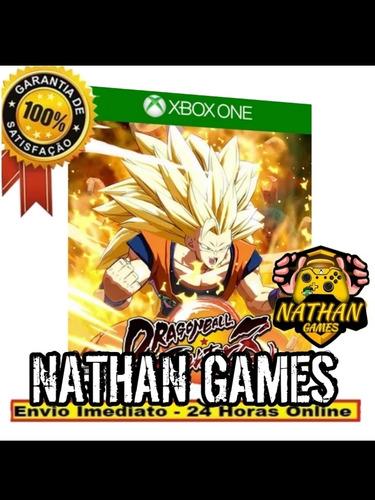 dragon ball fighter z digital xbox one + 1 jogo grátis