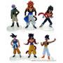 Coleccion De Dragon Ball Z Saga De Gt(6 Muñecos)