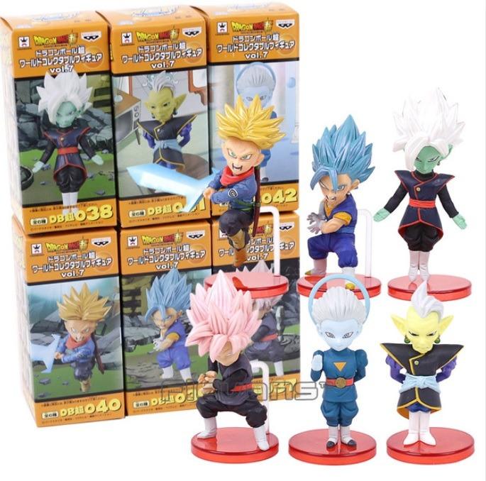 Dragon Ball Super - Kit De 6 Figuras Coleccionables - Vol.7 ... be87be930ce