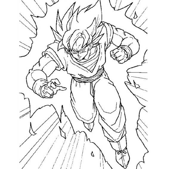 Dragon Ball Goku Libro Colorear O Crayolas 16 Pag T Carta - $ 8.50 ...